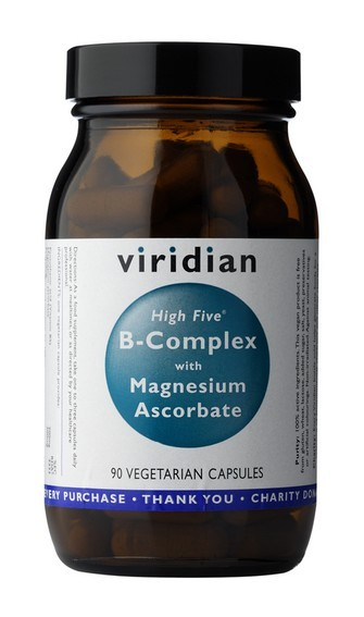 High Five B Complex with Magnesium Ascorbate 90 kapslí