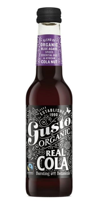 Gusto Organic Real Cola 275ml