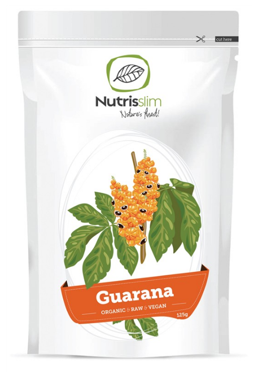 Nutrisslim Guarana Powder 125g Bio