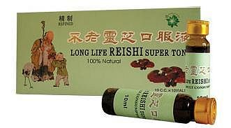 Reishi Super Tonic s Ženšenem, 10x10ml, TNT-21