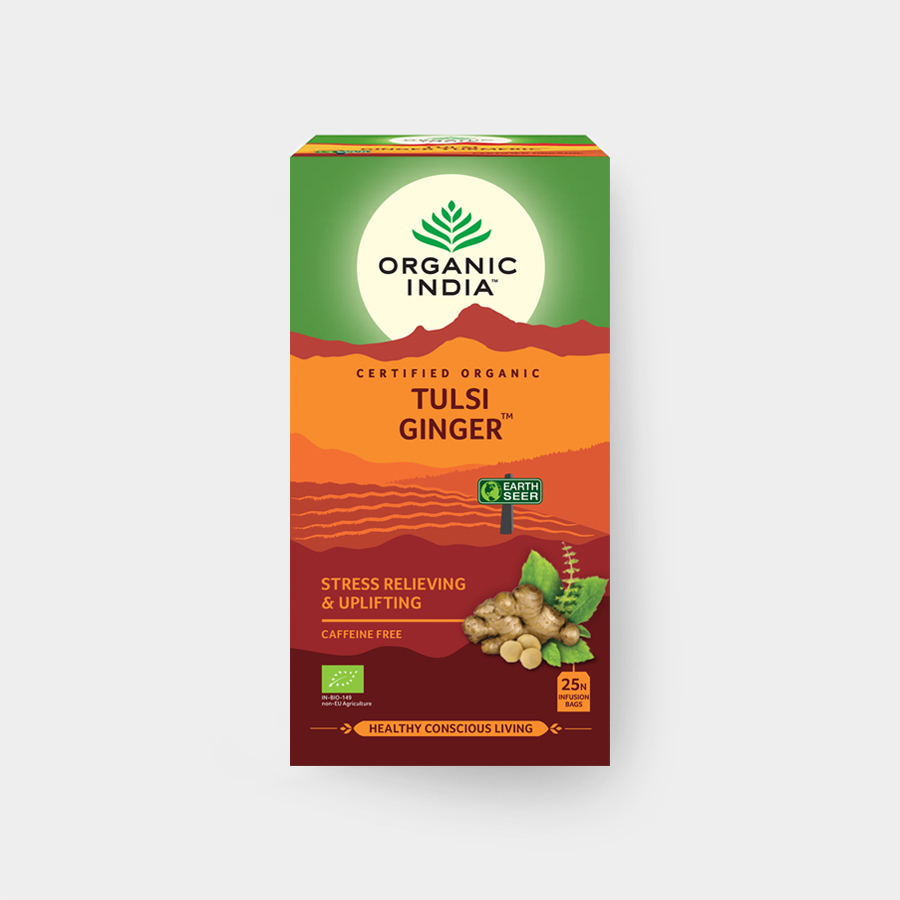 Tulsi Ginger Tea BIO, 25ks n.s. | Organic India