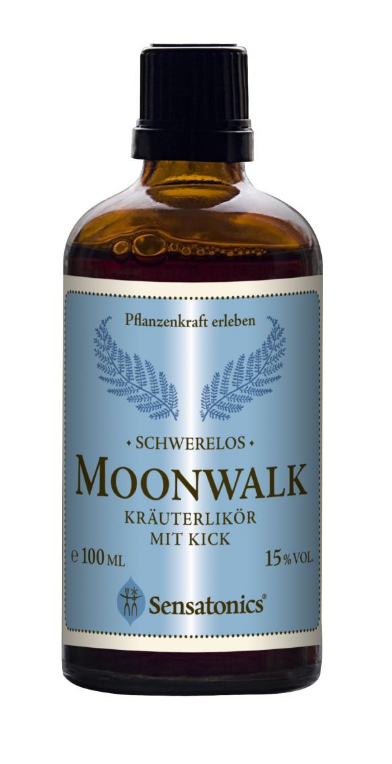 Sensatonics MOONWALK - bylinný kop 100ml, 15% alc.
