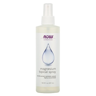 NOW Magnesium Topical Spray, 237 ml